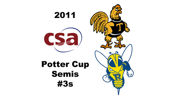 2011 Potter Cup: Andres Duany (Rochester) and Andres Vargas (Trinity)<br /> <br /> Game 1