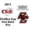 2011 Chaffee Cup - #1s: Andrew McComas (Haverford) and Milo Watanabe (Boston College)