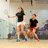 Jenny Chu (Wesleyan) and Eliana Saltzman (Williams)