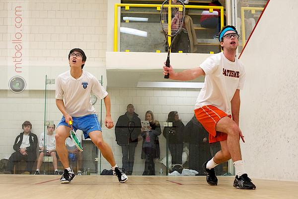 Luke Esselen (Hobart) and Tony Zou (Columbia)