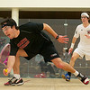 Walter Cabot (Bates) and Russell Woeltz (St. Lawrence)<br /> <br /> Published on page 7 of the 2011 Men's College Squash Association National Team Championship Program.