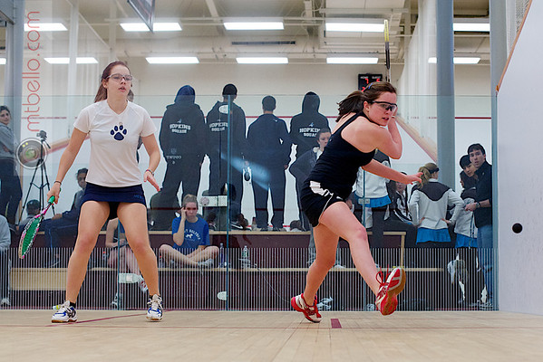 2011 Wesleyan Round Robin: Meredith Schmidt-Fellner (Brown) and Kristina Myren (Mount Holyoke)