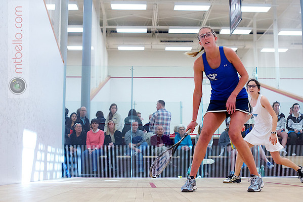 2011 Wesleyan Round Robin: 2011 Wesleyan Round Robin: Leah Puklin (Conn) and Molly Parsons (Colby)