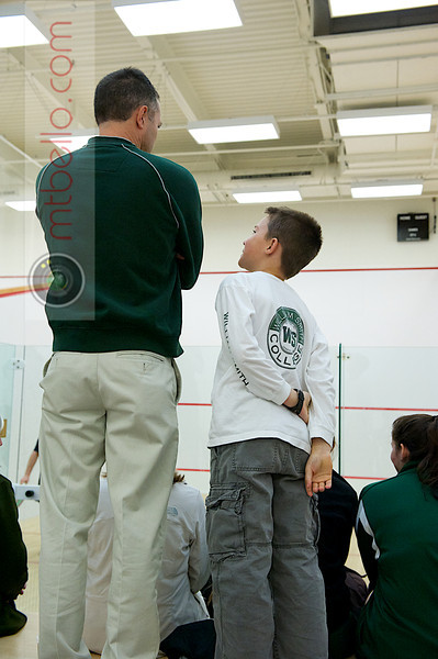 2011 Wesleyan Round Robin: Chip Fishback (William Smith) and his son