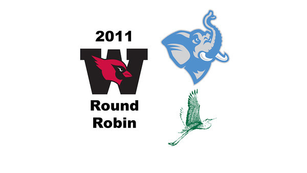 2011 Wesleyan Round Robin: #2s Olivia Beckwith (William Smith) and Mercedes Lee Barba (Tufts)