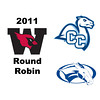 2011 Wesleyan Round Robin: #1s Kate Pistel (Colby) and Caroline Sargent (Conn)