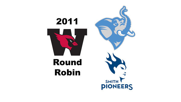 2011 Wesleyan Round Robin: #2s Clair Oblamski (Smith) and Mercedes Lee Barba (Tufts)