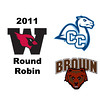 2011 Wesleyan Round Robin: #1s Brad Thompson (Brown) and Caleb Garza (Conn)