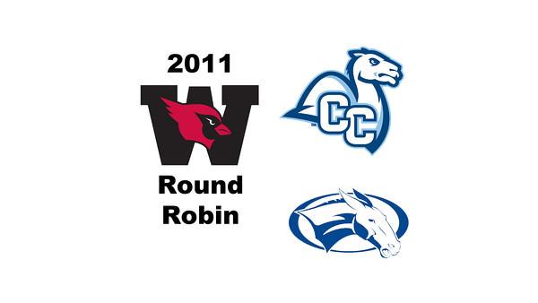 2011 Wesleyan Round Robin: #4s Madeline Hunsicker (Colby) and Jennifer Hyslip (Conn)