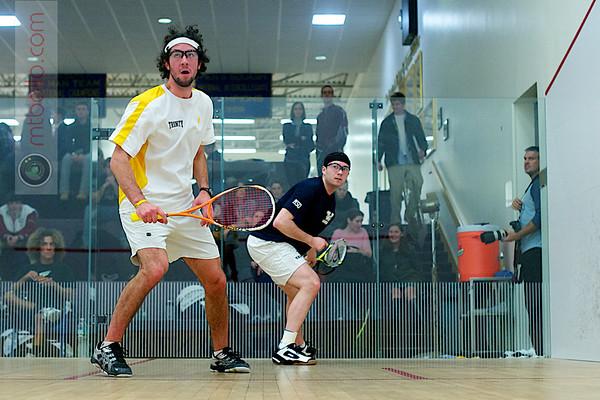 Daniel Echavarria (Trinity) and Chris Plimpton (Yale)
