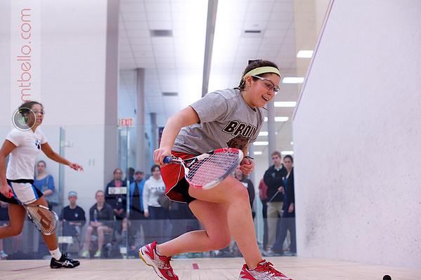 2012 Women's National Team Championships (Howe Cup): Kyla Harrington (Brown) and Elyse Taylor (Mount Holyoke)