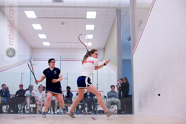 2012 Women's National Team Championships (Howe Cup): Jennifer Krain (Smith) and Amara Warren (Virginia)