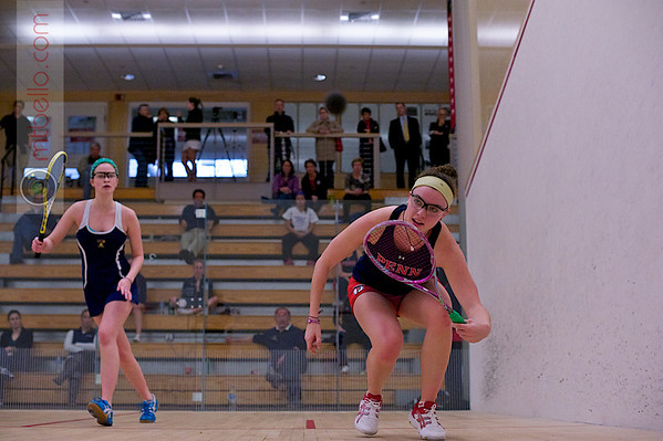 2012 Women's National Team Championships (Howe Cup): Jennifer Pelletier (Trinity) and Courtney Jones (Penn)