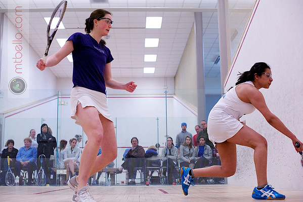 2012 Women's National Team Championships (Howe Cup): Dheeya Somaiya (Columbia) and Caroline Sawin (Williams)