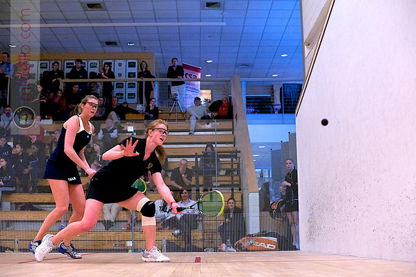 2012 Women's National Team Championships (Howe Cup): Lillian Fast (Yale) and Alexandra Lunt (Princeton)