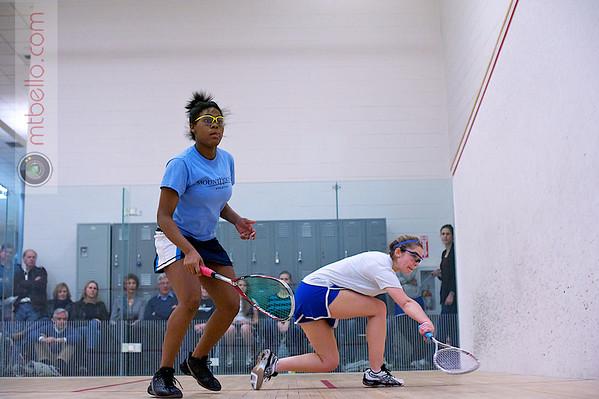 2012 Women's National Team Championships (Howe Cup): Elizabeth Morris (Hamilton) and Dachelle Parker (Mount Holyoke)