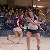 2012 Women's National Team Championships (Howe Cup): Amanda Sobhy (Harvard) and	Catalina Pelaez (Trinity)