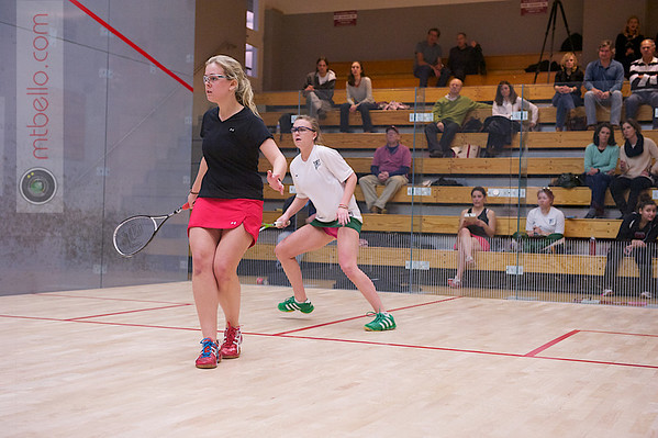2012 Women's National Team Championships (Howe Cup): Brigitte Tousignant (St. Lawrence) and Caroline Moxley (William Smith)