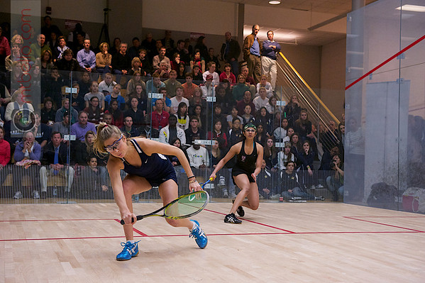 2012 Women's National Team Championships (Howe Cup): Nirasha Guruge (Harvard) and Rhetta Nadas (Yale)