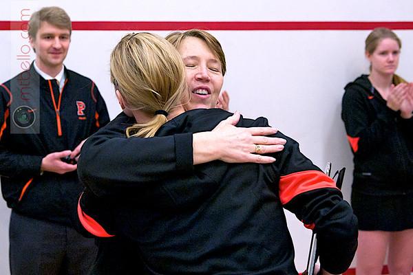 2012 Women's National Team Championships (Howe Cup): Richey Award winner Katie Giovinazzo and Gail Ramsay