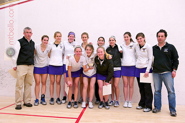 2012 Women's National Team Championships (Howe Cup): Williams College