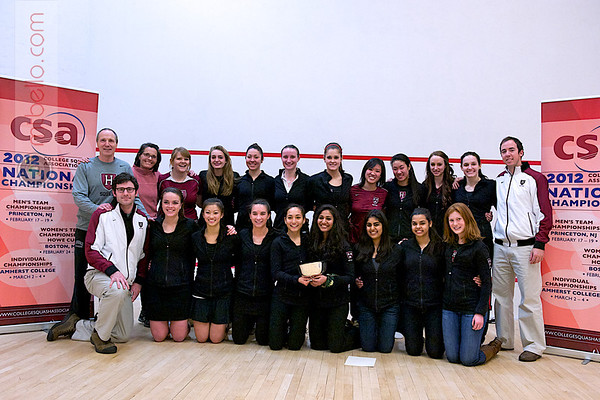 2012 Women's National Team Championships (Howe Cup): Harvard