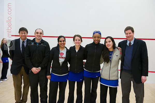 2012 Women's National Team Championships (Howe Cup): Ron Epps, Gavin Jones, Tanya Arora, Morgan Smith, Gabby Robinson, Alyssa Bawden, Jamie King