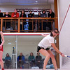2012 College Squash Individual Championships: Mary Foster (Wesleyan) and Arielle Lehman (Amherst)