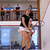 2012 College Squash Individual Championships: Torey Lee (Bowdoin) and Alyssa Northrop (Williams)