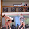 2012 College Squash Individual Championships: Katherine Giovinazzo (Princeton) and Danielle Letourneau (Cornell)
