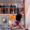 2012 College Squash Individual Championships: Harry Waterton (Bryant) and Tom Mullaney (Harvard)