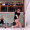 2012 College Squash Individual Championships: Julie Cerullo (Princeton) and Cecelia Cortes (Harvard)
