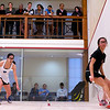 2012 College Squash Individual Championships: Casey Cortes (Princeton) and Katie Quan (Columbia)