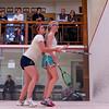 2012 College Squash Individual Championships: Elena Laird (Middlebury) and Chanel Erasmus (Trinity)