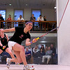 2012 College Squash Individual Championships: Amanda Sobhy (Harvard) and Julie Cerullo (Princeton)<br /> <br /> Published on pages 22-23 of Squash Magazine (October 2012)