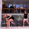 2012 College Squash Individual Championships: Amanda Sobhy (Harvard) and Julie Cerullo (Princeton)