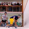 2012 College Squash Individual Championships: Vikram Malhotra (Trinity) and Samuel Kang (Princeton)