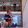 2012 College Squash Individual Championships: Richard Dodd (Yale) and Thomas Mattsson (Penn)