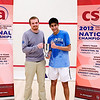 2012 College Squash Individual Championships: Jacques Swanepoel and Ramit Tandon (Columbia)