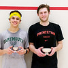 2012 College Squash Individual Championships: Nick Sisodia (Dartmouth) and Chris Callis (Princeton)