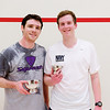 2012 College Squash Individual Championships: Tom Mullaney (Harvard) and Hunter Abrams (Navy)
