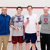 2012 College Squash Individual Championships: Craig Dawson, Tom Mullaney (Harvard), Hunter Abrams (Navy), and Mike Way