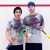 2012 College Squash Individual Championships: Miled Zarazua (Trinity) and Benjamin Fischer (Rochester)