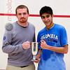 2012 College Squash Individual Championships: Jacques Swanepoel and Ramit Tandon (Columbia)