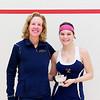 2012 College Squash Individual Championships: Wendy Bartlett and Andrea Echeverria (Trinity)