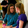 2012 College Squash Individual Championships: Ellie Ballard and Kate Savage (Amherst)
