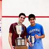 2012 College Squash Individual Championships: Ali Farag (Harvard) and Ramit Tandon (Columbia)