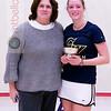 2012 College Squash Individual Championships: Wendy Lawrence, and Jackie Shea (George Washington)
