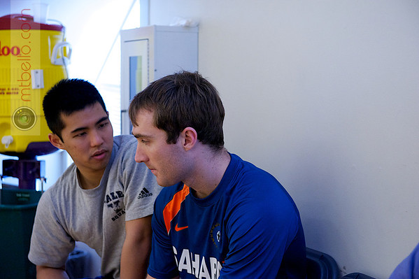 2012 College Squash Individual Championships: Kenneth Chan (Yale) and Richard Dodd (Yale)
