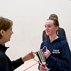 2012 College Squash Individual Championships: Millie Tomlinson (Yale) and Gail Ramsay (Princeton)